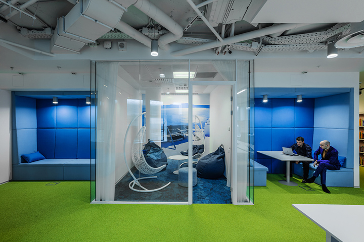 Booking.com offices by OFFCON, Moscow – Russia